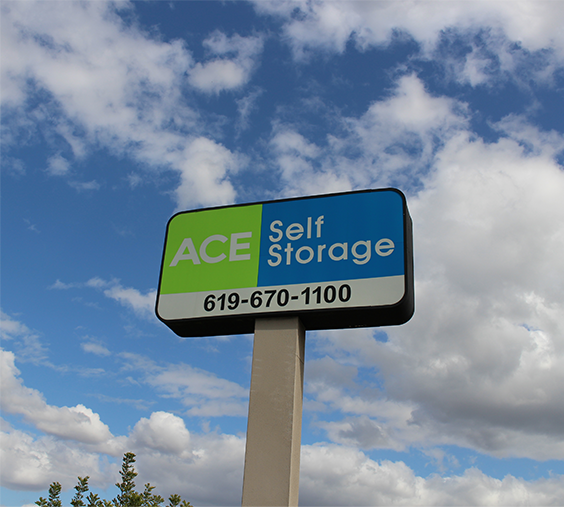 Ace Self Storage 619-670-1100